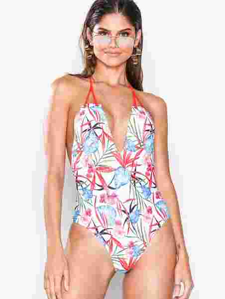 3d5df09c95047 Tropical Swimsuit - South Beach - Patterned - Swimsuits - Swimwear ...