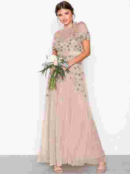 fc2e4bb81de9 Embellished Maxi Dress - Maya - Taupe - Festkjoler - Klær - Kvinne ...