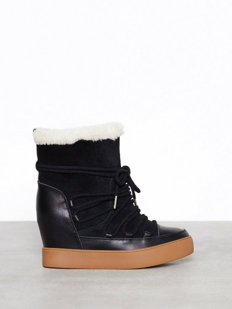 Billede af Shoe The Bear Trish Wool Wedge Sort