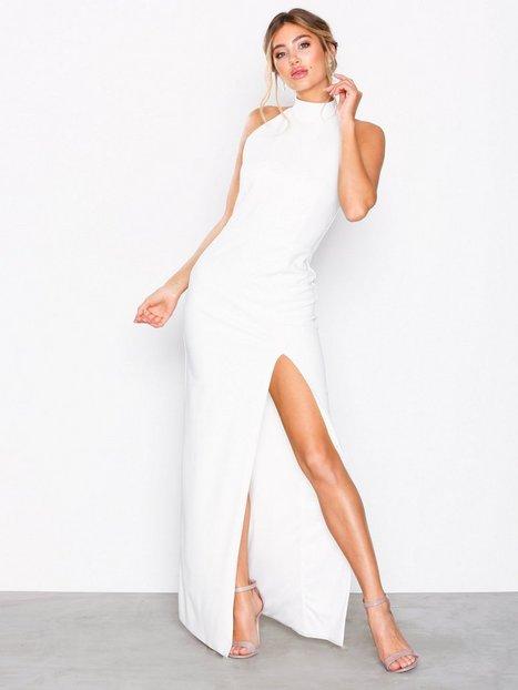 High Neck Halter Gown - Nly Eve - Weiß - Partykleider - Kleidung ...