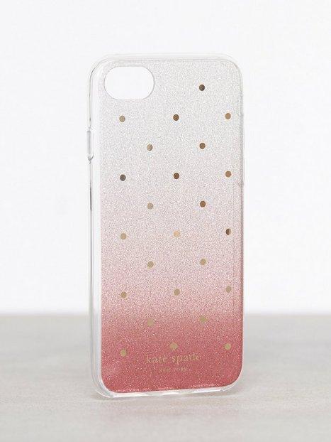 Billede af Kate Spade New York Glitter Ombre Dot-8 Mobilcover Rosa mønstret