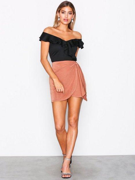 Drapy Mini Skirt