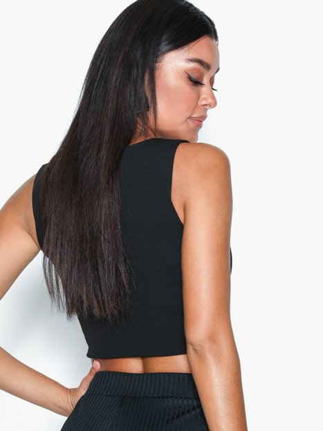 Metal Bar Crop Top