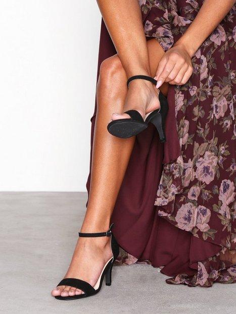 Billede af Bianco Low Basic Sandal Low Heel Sort