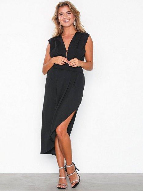 Billede af Honor Gold Haven Crepe Midi Dress Kropsnære kjoler Black