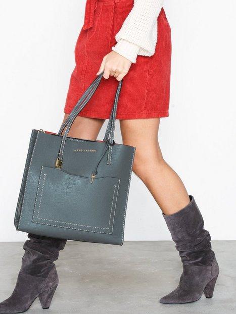 Marc Jacobs Grind T Pocket Håndtaske Iron