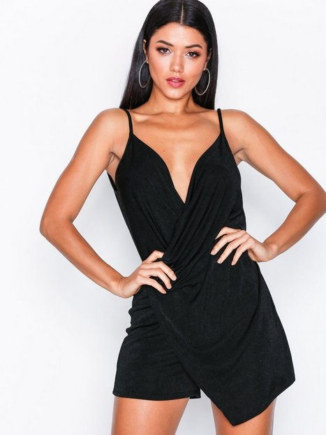 Billede af NLY One Asymmetric Playsuit Playsuits Black