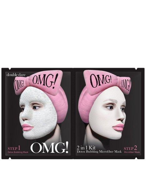 Billede af OMG! 2 in1 Kit Detox Bubbling Microfiber Mask Ansigtsbehandling Transparent