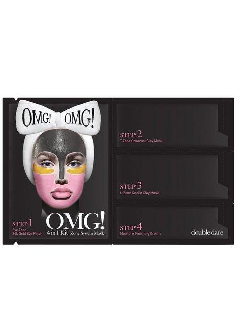 Billede af OMG! 4 in1 Kit Zone System Mask Ansigtsmaske Transparent