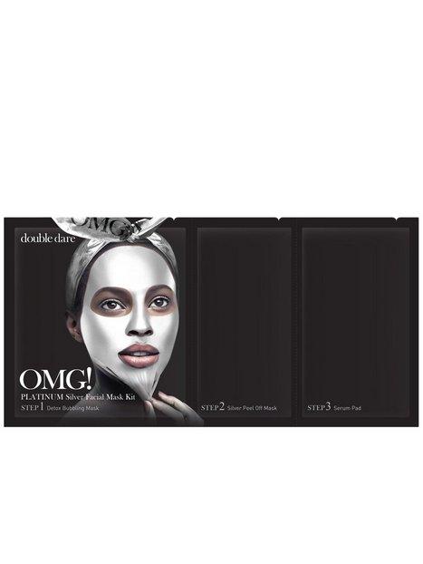Billede af OMG! Platinum Facial Mask Kit Ansigtsmaske Sølv