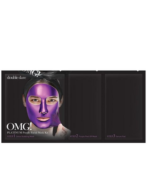 Billede af OMG! Platinum Facial Mask Kit Ansigtsmaske Lilla