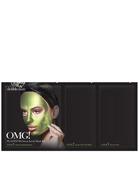 OMG! Platinum Facial Mask Kit Grønn