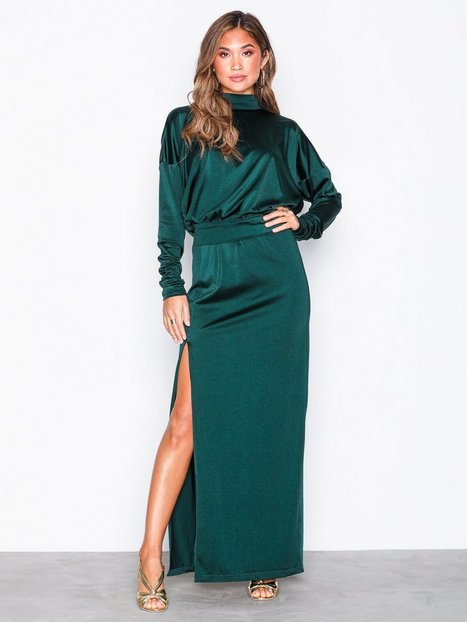 Billede af Gestuz Arista long dress Kropsnære kjoler Pine