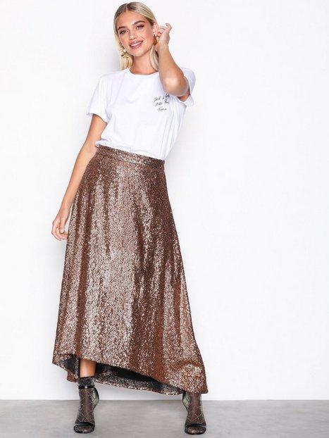 Billede af Gestuz Tito skirt Midi nederdele Copper