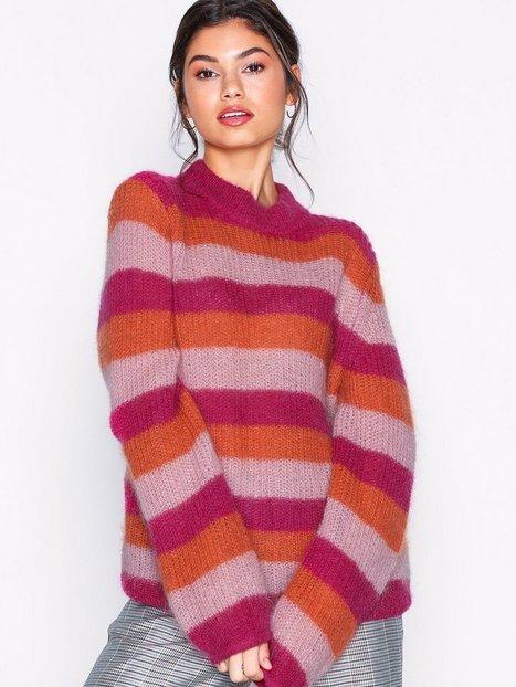 Gestuz Holly stripe pullover Strikkede trøjer Multistripe