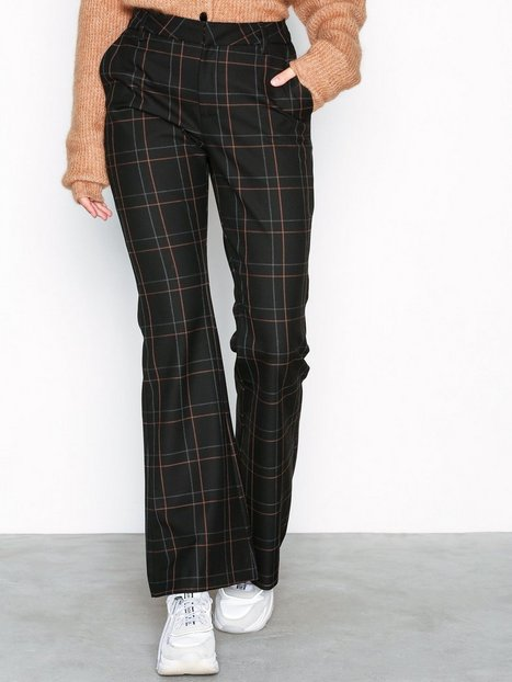 Billede af Gestuz Satilla cen flared pants Bukser Check Pattern