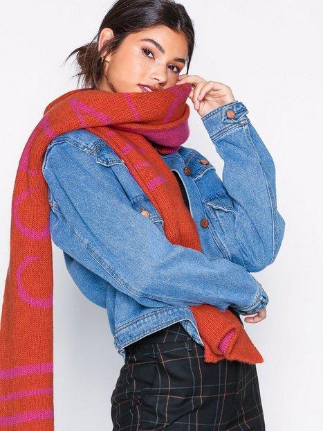 Billede af Gestuz Vie scarf Beanies, Scarves & Gloves Rosa/Orange