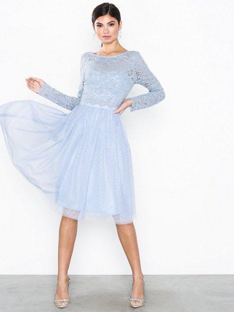 NLY Eve Lace Dream Mesh Dress Festklänningar - NLY Eve
