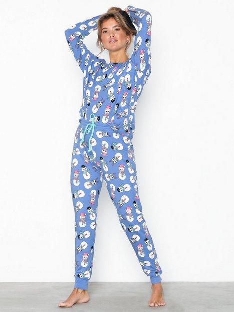 Billede af Chelsea Peers Grumpy Snowcats PJ Set Pyjamasser & hyggetøj