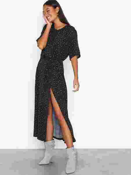 14295077 Harper Midi Dress - Gestuz - Black - Dresses - Clothing - Women ...