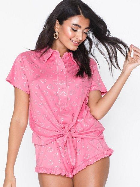 Billede af Chelsea Peers Foil Heart Short Set Pyjamasser & hyggetøj
