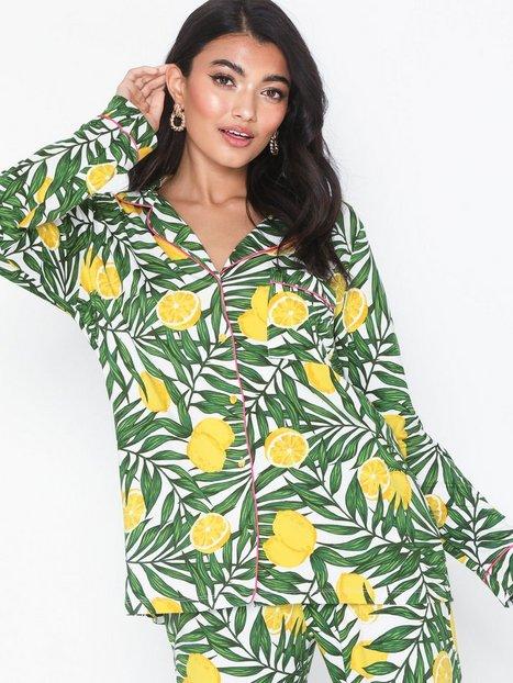 Billede af Chelsea Peers Lemon Long Set Pyjamasser & hyggetøj