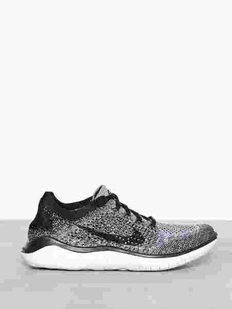 Nike Free Rn Flyknit 2018 - Nike - Valkoinen Musta - Treenikengät ... 2de01a60de