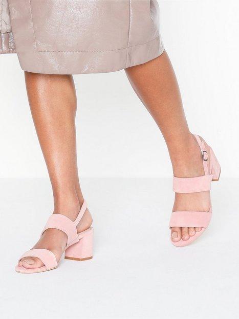 Billede af Bianco BIACARITA Suede/Leather Sandal Low Heel
