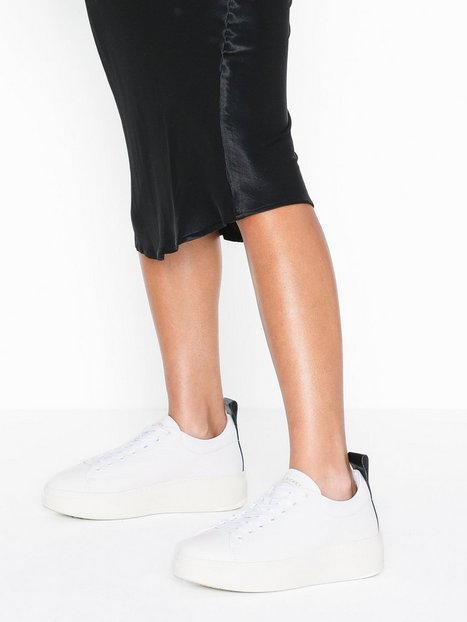 Billede af Jim Rickey Club Tech-Tumbled Leather Low Top