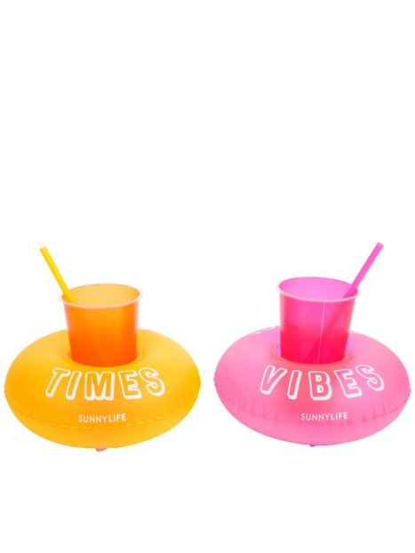 Billede af Sunnylife Inflatable Party Malibu Drink Holder Set Strandtøj
