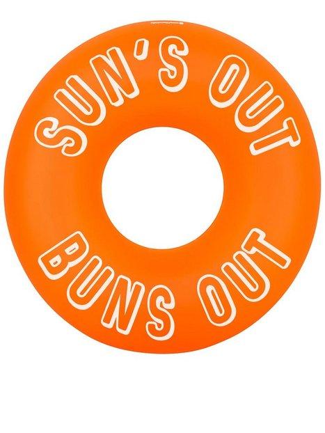 Billede af Sunnylife Pool Ring Neon Orange Strandtøj