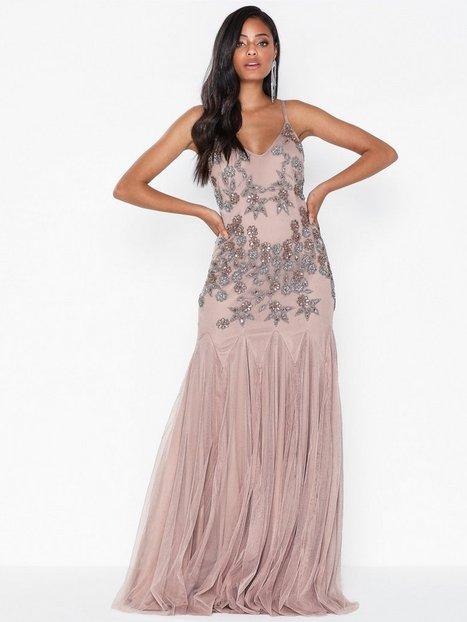 Billede af Maya Cami Embellished Fishtail Maxi Dress Maxikjoler