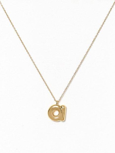 Billede af Marc Jacobs Bubbly Pendant Gold Halskæder A