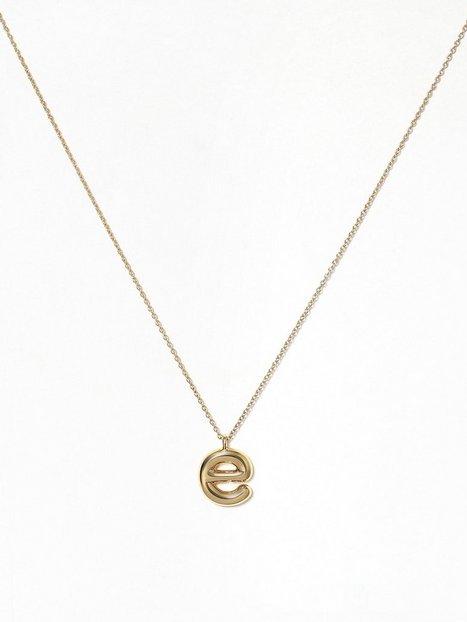 Billede af Marc Jacobs Bubbly Pendant Gold Halskæder E
