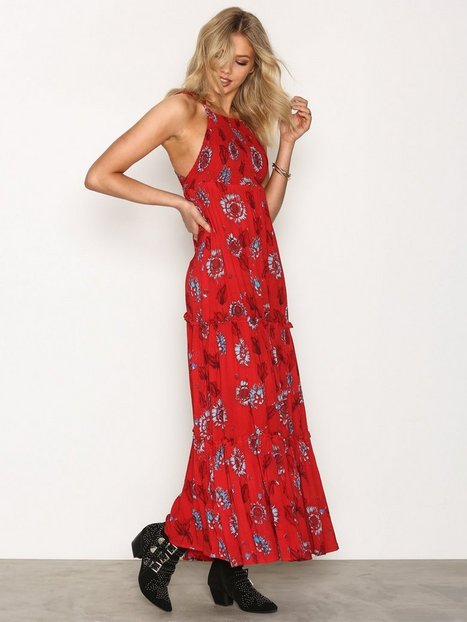 Billede af Free People Garden Party Maxi Maxikjole Red