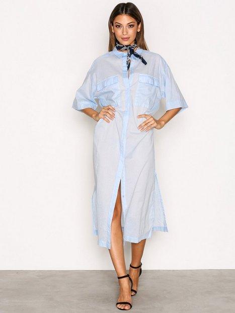 Billede af MOSS COPENHAGEN Ottie Voile Long Shirt Bluser & Skjorter Light Blue