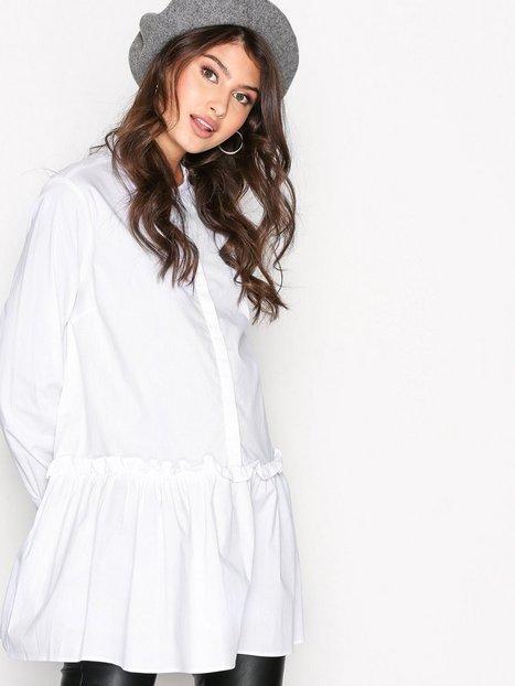 Billede af MOSS COPENHAGEN Ching Stretch Shirt Skjorter Bright White