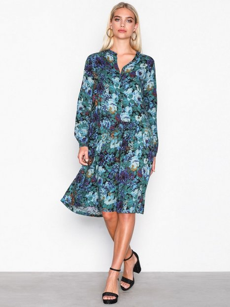 Billede af MOSS COPENHAGEN Aura Dress Loose fit Blue