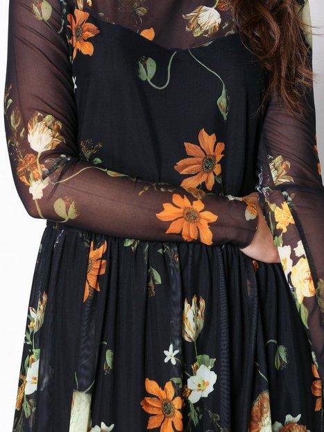 Soleima Mesh Dress Aop