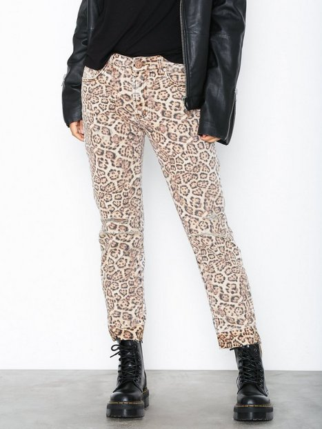 Billede af One Teaspoon Leopard Truckers Loose fit