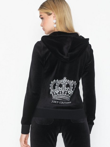 Billede af Juicy Couture Juicy Crown Velour Robertson Jacket Hættetrøjer