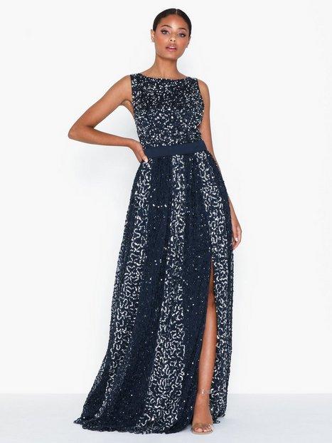 Billede af Maya All Over Sequin Maxi Dress Maxikjoler