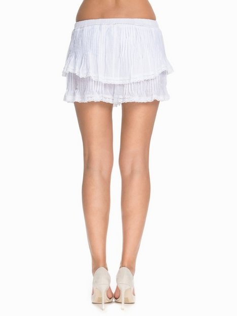 Embroidery Shorts Skirt