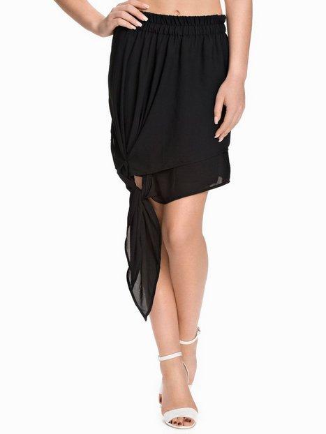 Billede af NLY Design Tied Chiffon Skirt Mini nederdele