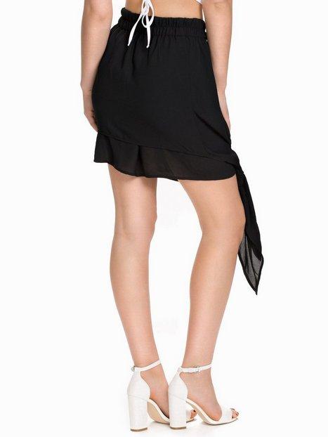 Tied Chiffon Skirt