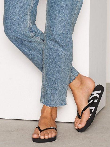 Billede af Calvin Klein FF Sandal Flip-Flops Sort
