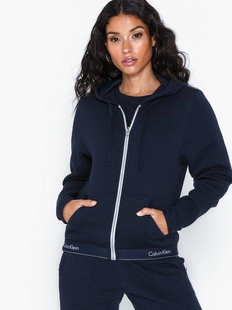 Billede af Calvin Klein Underwear Hoodie Top Full Zip Overdele Navy