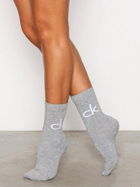 Billede af Calvin Klein Underwear 2-pack Reign Vintage Logo Strømper Oxford