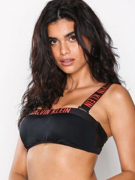 Billede af Calvin Klein Underwear Bandeau Mesh Bikini Top Top Sort