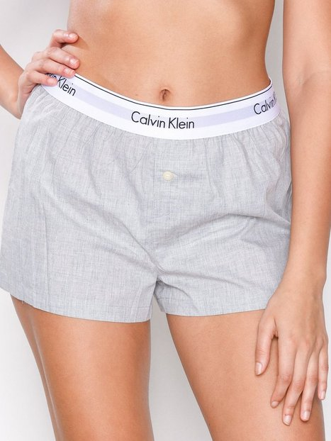 Billede af Calvin Klein Underwear Sleep Short Pyjamas & Hyggetøj Grå